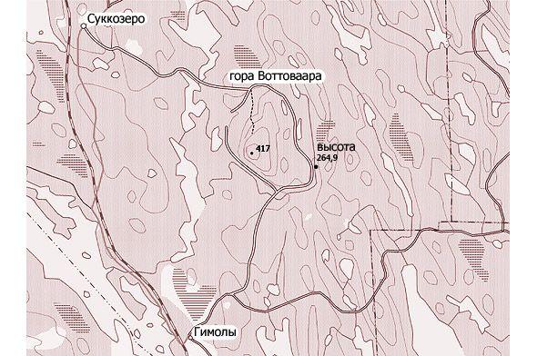смерть гора высота 264,9 рядом с воттаваара