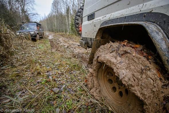 грязь и внедорожники