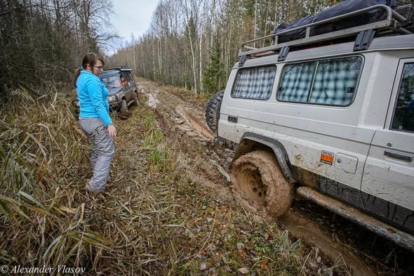 внедорожная езда по леса псковской области