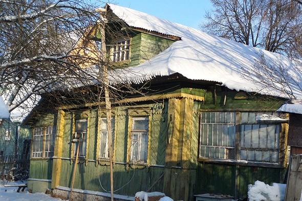 Старинный дом села тишково