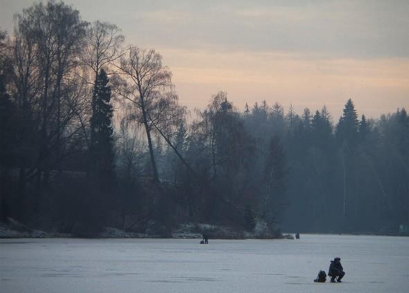 зимняя рыбалка в тишково пушкинский район