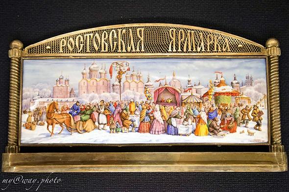 история ростовской финифти в музее кремля