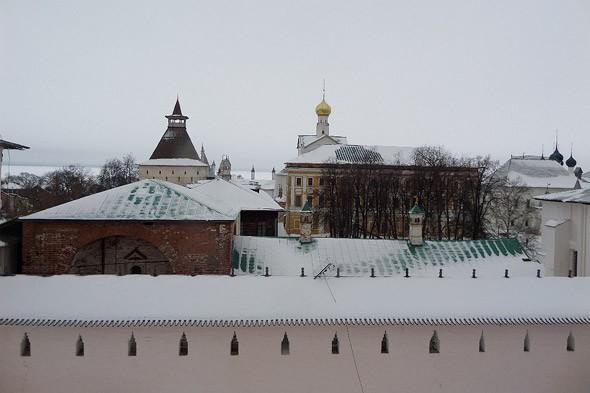 кремль ростова крепостные стены