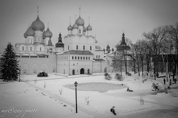 великий ростов кремль  центральная часть