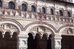 ростовский борисоглебский монастырь деталь юных ворот