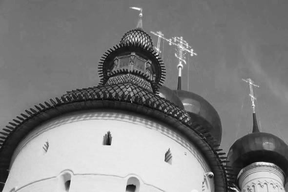 ростовский кремль башня крытая лемехом