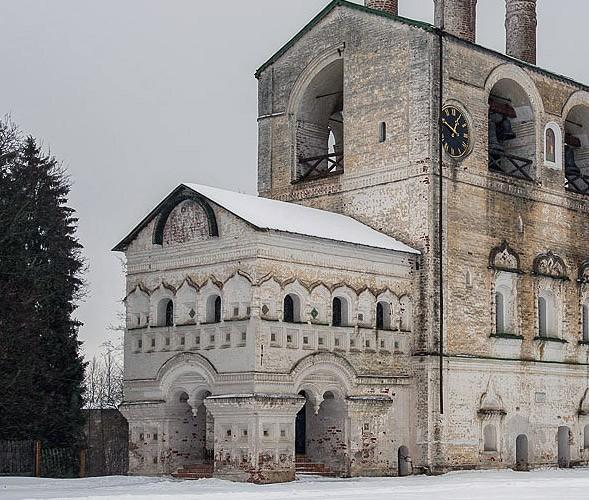 звонница борисоглебский мужской монастырь ярославская  область