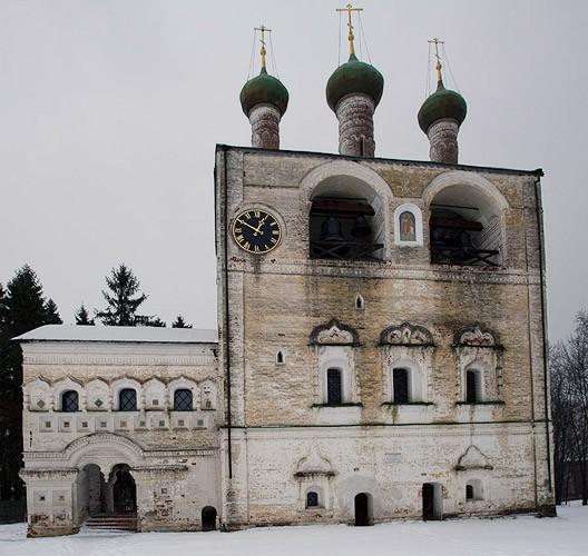 звонница и церковь св. иоанна предтечи