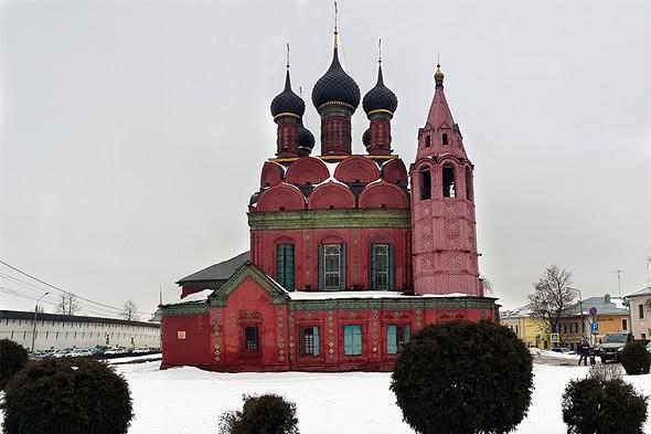 богоявленская церковь на богоявленской площади