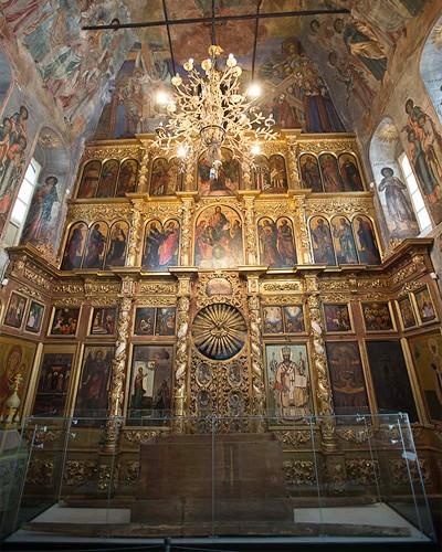 церковь царевича дмитрия внутри