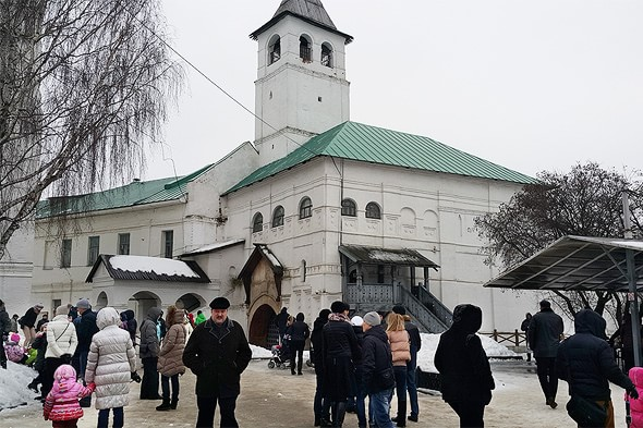 дозорная башня святых ворот спасо преображенский монастырь ярославль