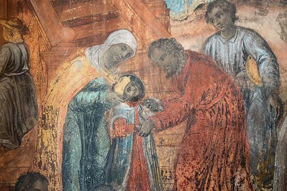 роспись в церкви гибель царевича дмитрия