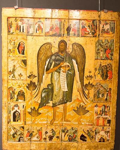 икона из собрания музея заповедника ярославского кремля