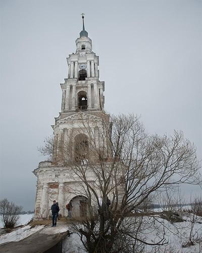 ярусы колокольной башни