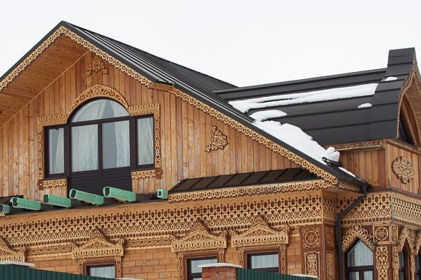 дом сделанный руками калязинских умельцев