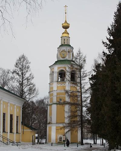 колокольня спасо преображенского собора углич кремль