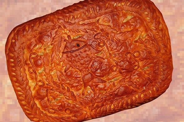осташковский пирог рыбник