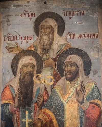 роспись в храме город углич