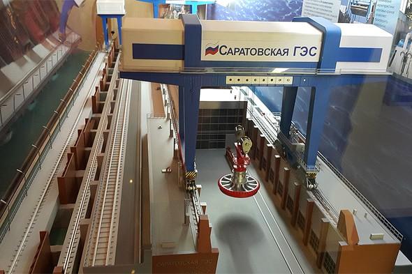 экспонат гидроэлектростанция саратов