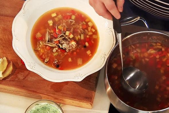 рыба суп из снетков