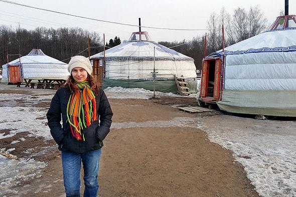 этнопарк юрта переносной дом кочевника
