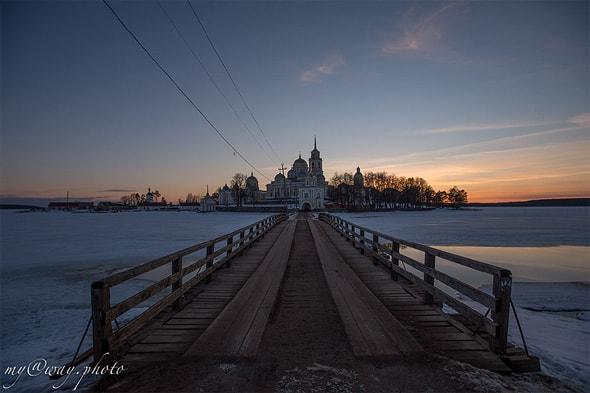 мост к светлицкой башне