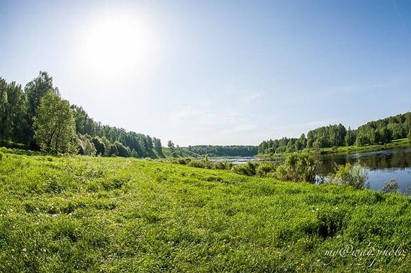 поезжайте на озеро селигер