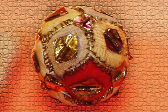 тканевый мячик гремотушка