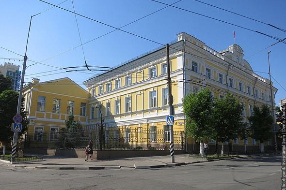 комплекс зданий саратовского отделения госбанка