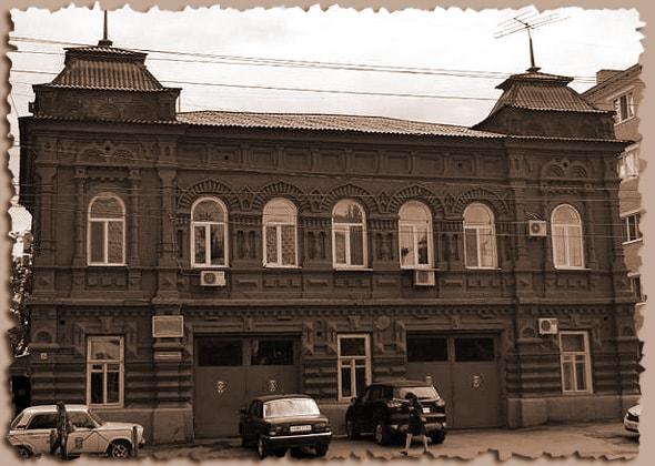 пожарная часть в старинном здании