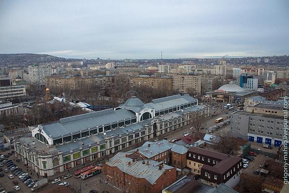 прямоугольник здания крытого рынка