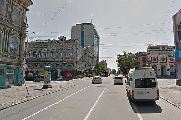 пересечение радищева с московской