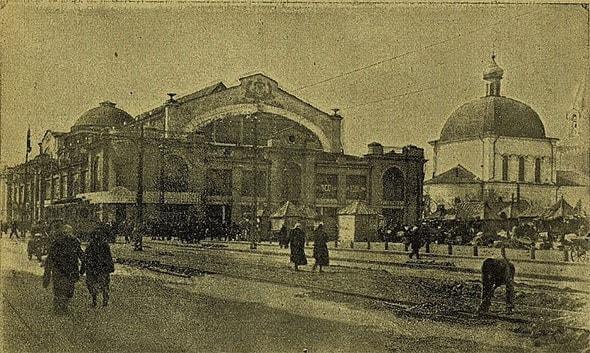 по соседству с митрофаньевской церковью открыт рынок