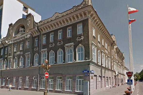 здание администрации города бывший торговый дом бендера