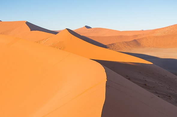 пески намибии юг африки