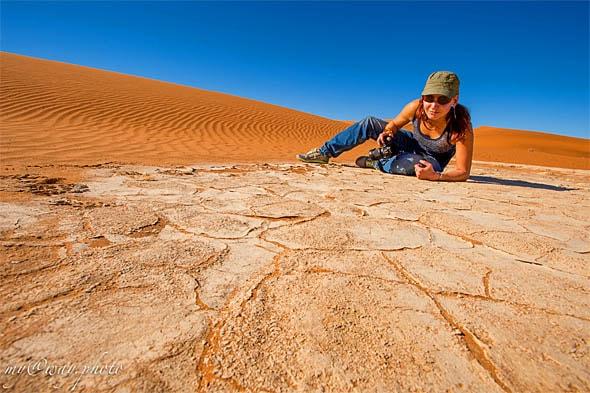 белый язык глины на плато соссусфлей