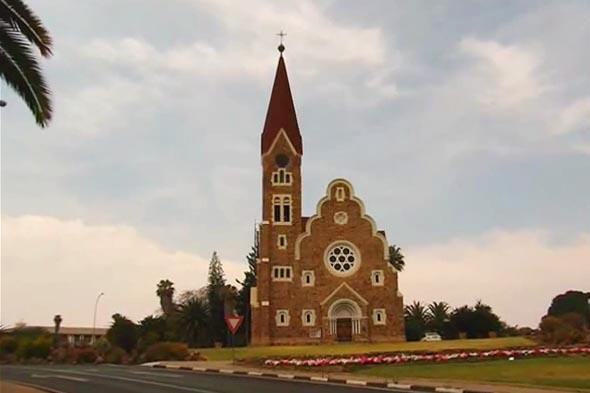 лютеранская кристускирхе церковь христа