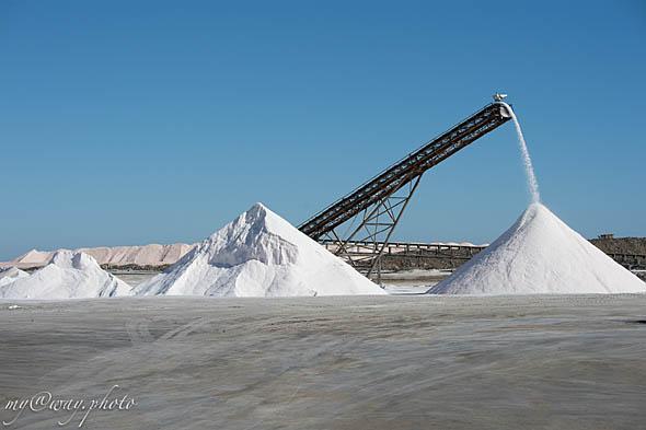 чистая соль при выпаривании