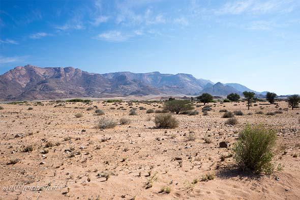 гористая местность намибии