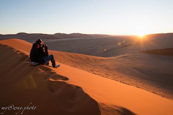 красные пески дюн пустыни намиб