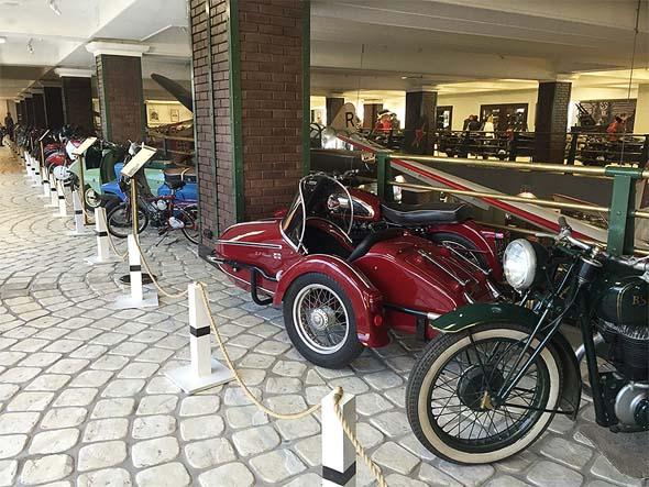 мотоциклы в музее технки