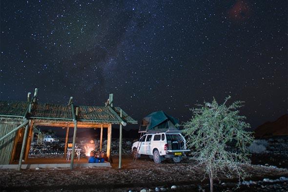 видны намибийские звезды