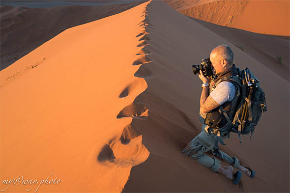 пока еще одни на дюне