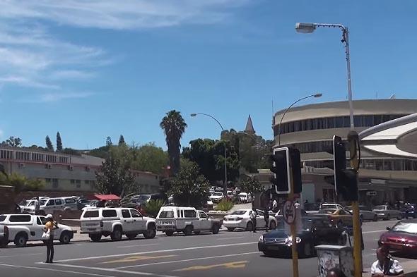 проспект независимости виндхук столица намибии