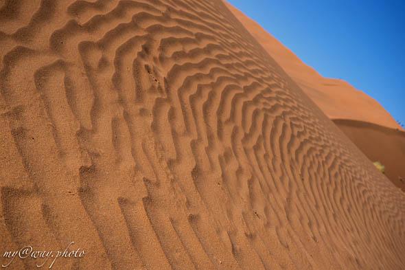 работа ветра формировать дюны