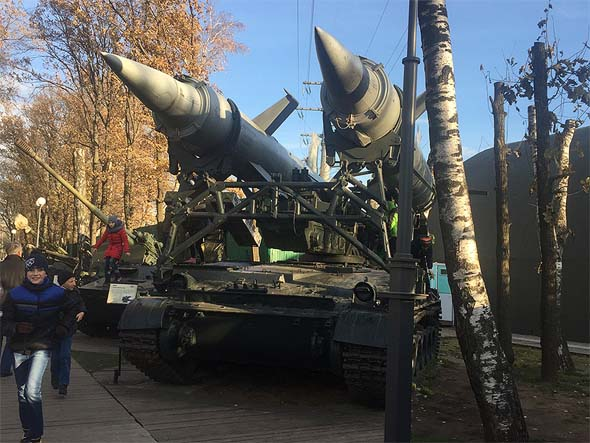красногорский музей военная техника