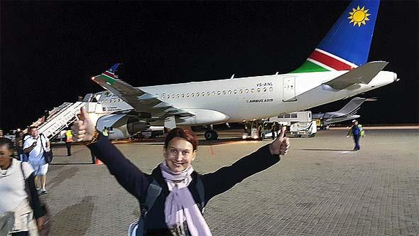 самолетом до намибии