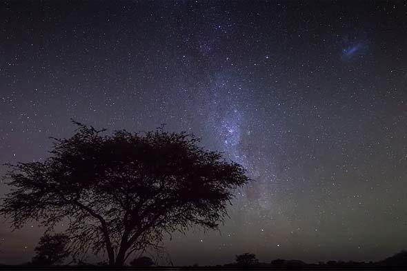 бездна звездного неба намибии