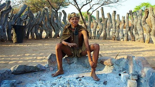 вы хотели бы прожить день в племени буушменов