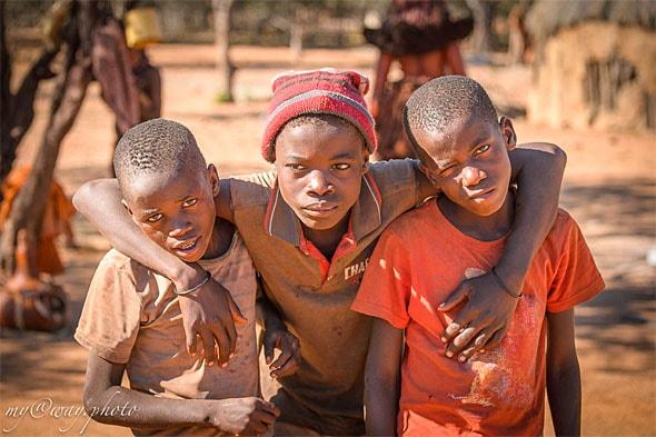 друзь мальчишки племени имба